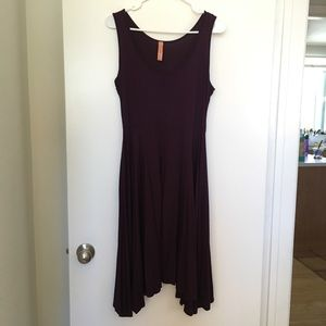 Modcloth For Any Endeavor Dress in Plum